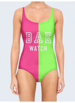 3D КУПАЛЬНИК BAE WATCH PINK